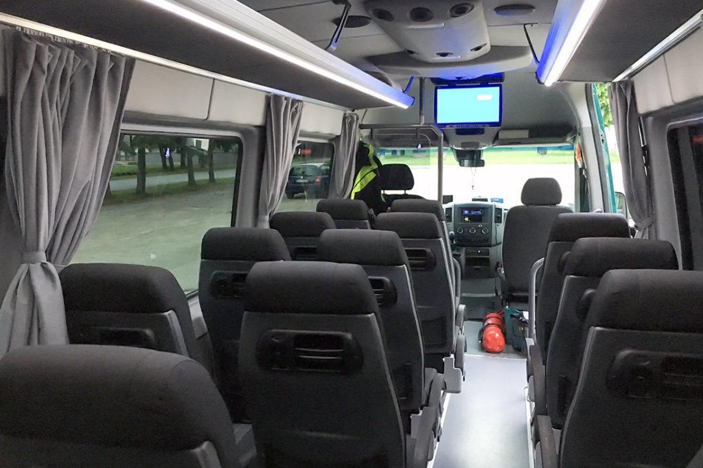 Mercedes Sprinter - doprava minibusom